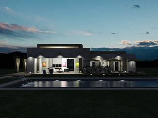 Casas Campestres: Casas de estilo  por Arquitectos y Entorno S.A.S,