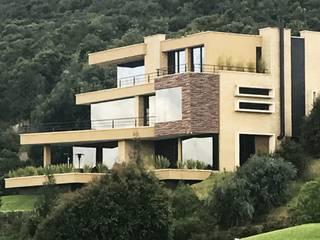Casas Campestres : Casas de estilo  por Arquitectos y Entorno S.A.S,