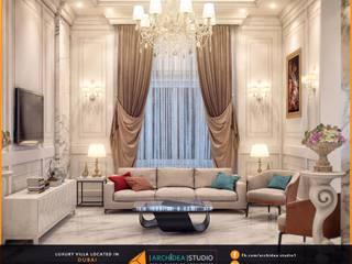Villa in Dubai:   by Archidea Studio