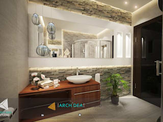 Luxury Bathroom:   by Archidea Studio