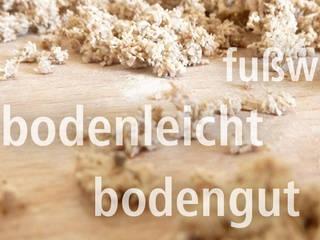 CHINOTHERM Bio-Estrich aus Naturstoffen A. Chini GmbH & CO.KG Fußbodenbau Moderne Wohnzimmer Beige