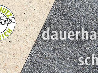 CHINOLITH Magnazzo - hochfester Belag in Terrazzo-Optik A. Chini GmbH & CO.KG Fußbodenbau Moderner Flur, Diele & Treppenhaus