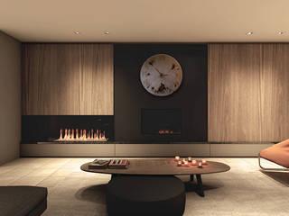 Modern Living Room by Zegary Design Modern