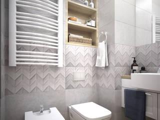 Łazienka-Totius Studio: styl , w kategorii Łazienka zaprojektowany przez Totius Studio