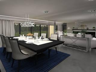 modern  by Aline Mozzer Arquitetura, Modern