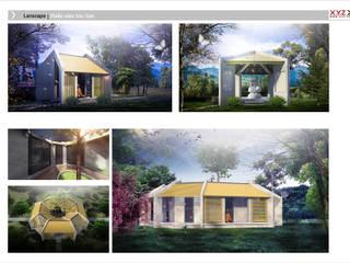 Minimalist houses by Công ty cổ phần X.Y.Z Minimalist