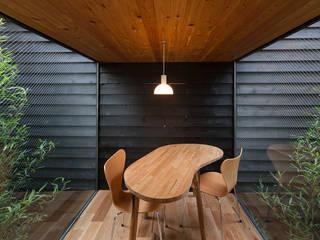 acaa Modern dining room Wood Black