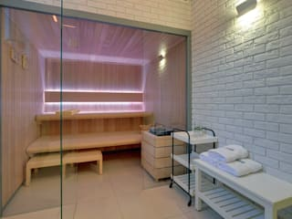 Sauna Comfort Line Nowoczesne spa od Sauna Line Sp. z o.o. Nowoczesny