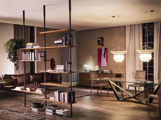 Espaço MyStudioHome.: Escritórios e Espaços de trabalho  por MY STUDIO HOME - Design de Interiores