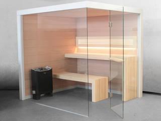 Sauna Perfect Line od Sauna Line Sp. z o.o. Minimalistyczny