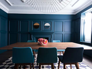 Dining room by Cassidy Hughes Interior Design