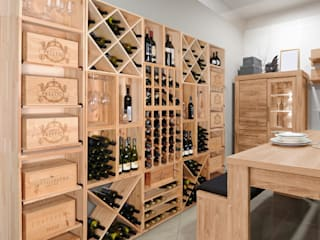 Modern wine cellar by Weinregal-Profi Modern