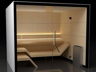 Sauna Modern Line Nowoczesne spa od Sauna Line Sp. z o.o. Nowoczesny