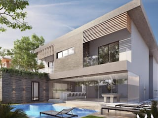 Casa Jardim do Golfe Casas modernas por AM Arquitetas Moderno