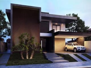 Casa Jardim do Golfe por AM Arquitetas Moderno