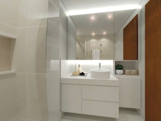 Bathroom by StudioCS Arquitetura, Scandinavian