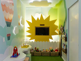 Consultório Pediátrico | Campo Grande - MS: Clínicas  por Juliana Trivellato Arquiteta,Clássico
