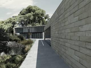 Proyecto Casa Amatlan: Casas unifamiliares de estilo  por GRUPO QVICK
