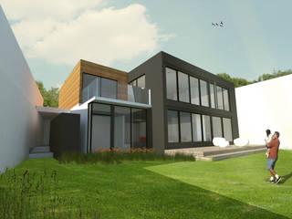 CASA ARNULFO: Casas unifamiliares de estilo  por GRUPO QVICK