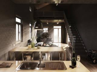ด้านอุตสาหกรรม  โดย Tuan Han Design Studio, อินดัสเตรียล