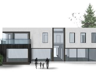 Rozbudowa domu jednorodzinnego w Konstancinie od HalabisArchitektura
