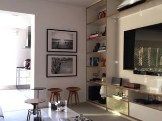 branco arquitetura Modern living room