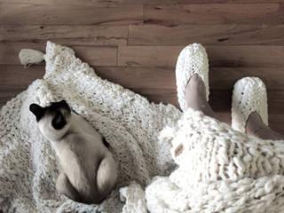 ALGODON AGROECOLOGICO • mantas & almohadones de AZZULARQ.com Escandinavo
