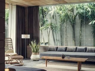 Soggiorno in stile  di Meliki, Asiatico Bambù Verde
