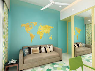 Nursery/kid's room by The inside stories - by Minal, Modern