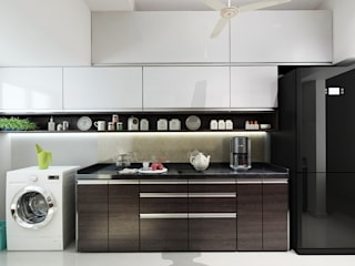 Built-in kitchens by The inside stories - by Minal, Modern