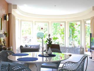 Nachher Um-/Neugestaltung Wohn/Essbereich:   von raumatmosphäre pantanella