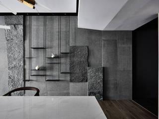 穿透空間:  餐廳 by 思維空間設計