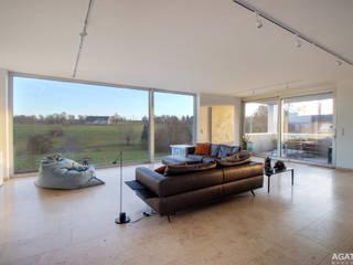 Salon moderne par Architekturbüro Sutmann Moderne