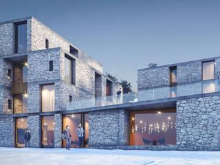 Гостиничный комплекс на горнолыжном курорте «Архыз»: Гостиницы в . Автор – Архитектурная студия Чадо