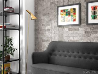Phòng khách theo Equipe Ceramicas, Bắc Âu