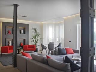Livings modernos: Ideas, imágenes y decoración de MILLENIUM ARCHITECTURE Moderno