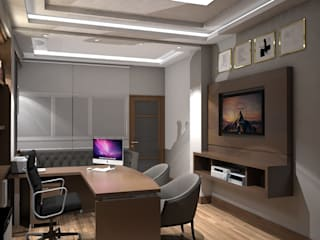 Estudios y despachos de estilo ecléctico de Savignano Design Ecléctico