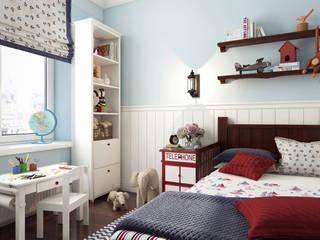 Artichok Design Boys Bedroom Blue