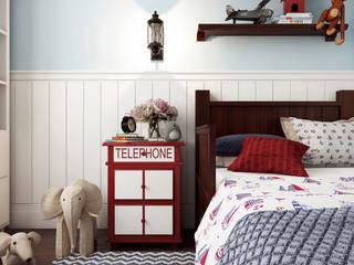 Artichok Design Boys Bedroom White