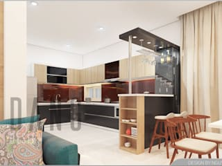 Asian style kitchen by DCOR Asian
