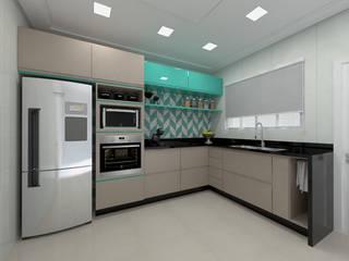 Pavimento térreo residencial por Juliana Lobo Arquitetura & Interiores Moderno