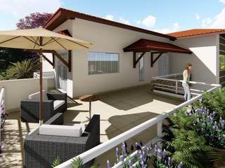 の Marco Lima Arquitetura + Design モダン