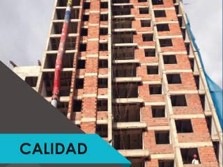 Edificio Reserva Cañaveral: Conjunto residencial de estilo  por Yisan Construcciones S.A.S