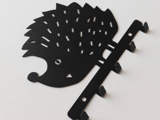 Metalowe wieszaki ścienne na ubrania i klucze. Nowoczesne wieszaki, uchwyty, haki na rower i narzędzia od MT3CH Nowoczesny