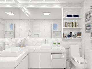 Reforma de Banheiro:   por Camila Machado Arquitetura e Interiores,Moderno