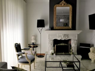 DEPOIS - Sala de estar:   por Ci interior decor