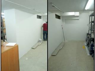 DESPUÉS!!!!: Bodegas de estilo  por CELIS & CELIS INGENIEROS CONSTRUCTORES S.A.S