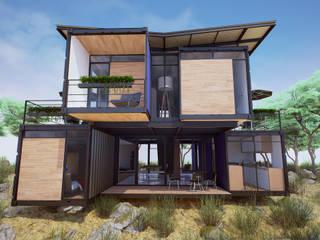 moderne Häuser von EnTRE+