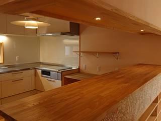 Projekty,  Kuchnia zaprojektowane przez 株式会社シーンデザイン建築設計事務所