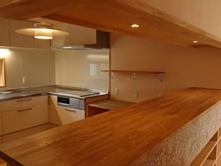 SHINONOI HOUSE 北欧デザインの キッチン の 株式会社シーンデザイン建築設計事務所 北欧